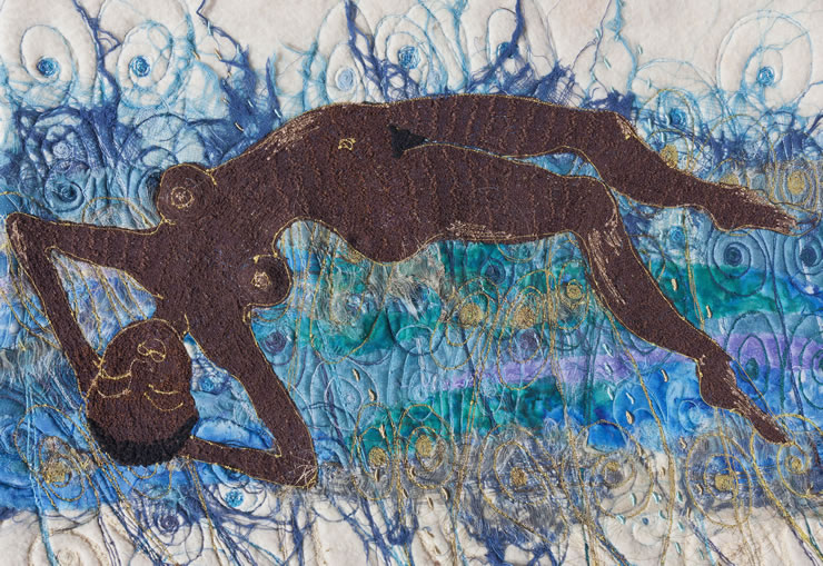 Pauline Bloomfield Textile Art for Sale